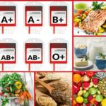 Dieta segun el grupo sanguineo