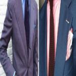 Maneras para combinar la corbatas con tu camisa y traje