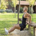 Para un cuerpo fitness entrenamiento al aire libre