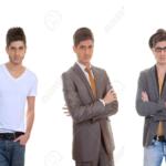 Diferentes estilos de moda para hombres