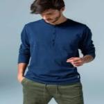 El color azul siempre el estilo elegido para el hombre…