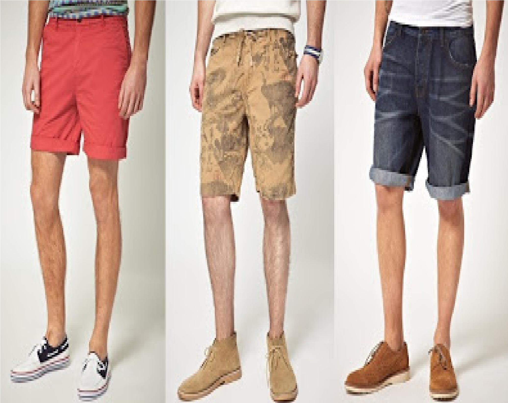 Tips de shorts para hombres distintas alternativas de