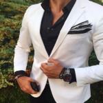 Sugerencias para vestir de blanco y negro….