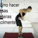 Como hacer pesas caseras…