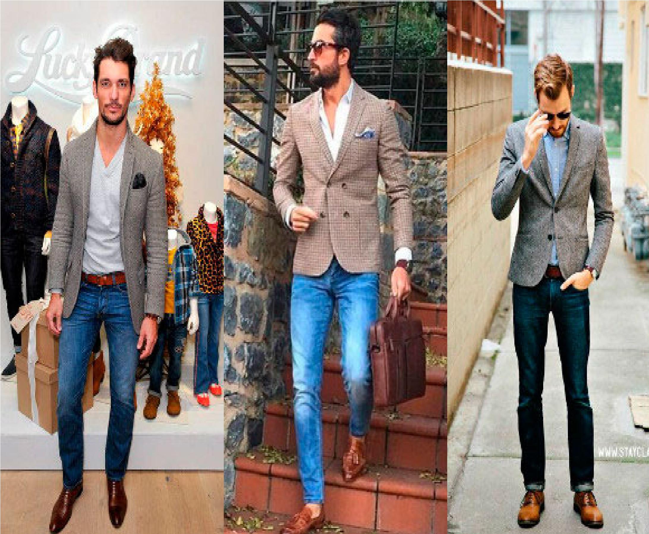 Sugerencias Para Vestir De Forma Casual Hombres Y Dentro