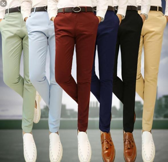 buena calidad seleccione para oficial orden Estilo.pantalones de colores para hombres.... - Hombre Alfa