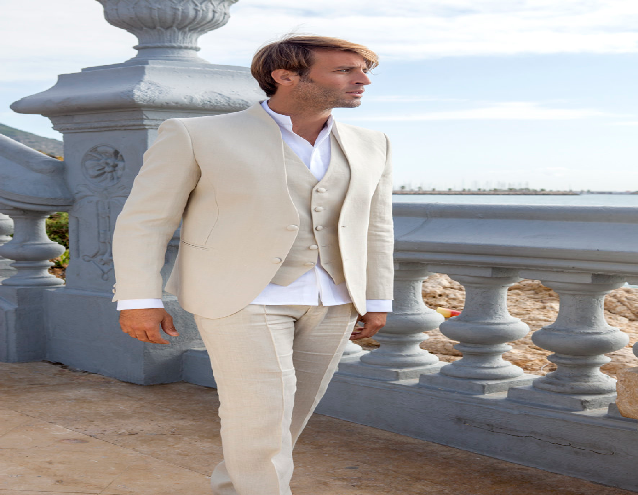 Boda En La Playa Como Vestir Hombre Alfa