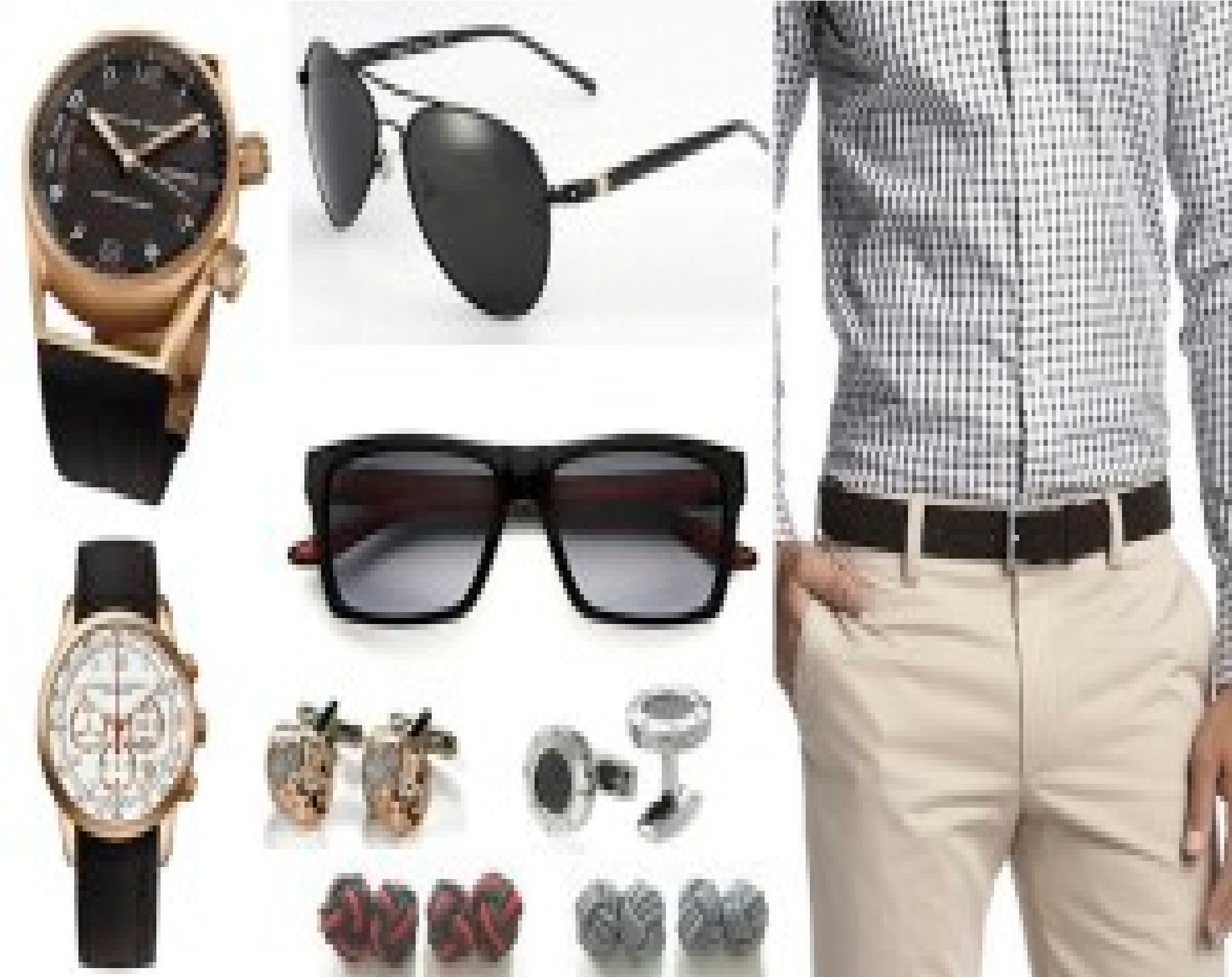 detallado Tienda online la compra auténtico Accesorios para hombres... distintas alternativas en lo que ...
